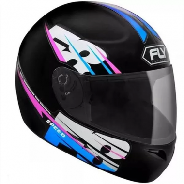 CAPACETE FLY F8 SPEED/18