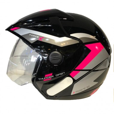 CAPACETE EBF THUNDER OPEN FORCE X/20