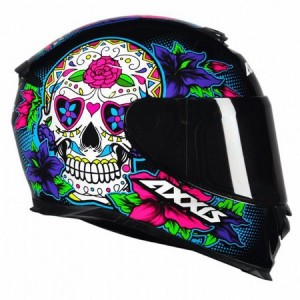 CAPACETE AXXIS EAGLE SKULL GLOSS/19