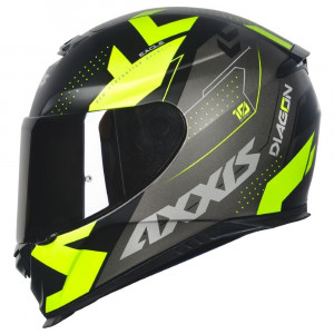 CAPACETE AXXIS EAGLE DIAGON GLOSS/19