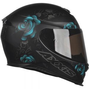 CAPACETE AXXIS EAGLE FLOWERS MAT